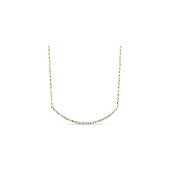 14k Yellow Gold Necklace 3/8 ct. tw.