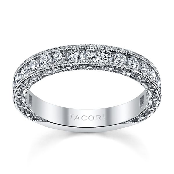 Tacori Platinum Diamond Wedding Band 1 ct. tw.