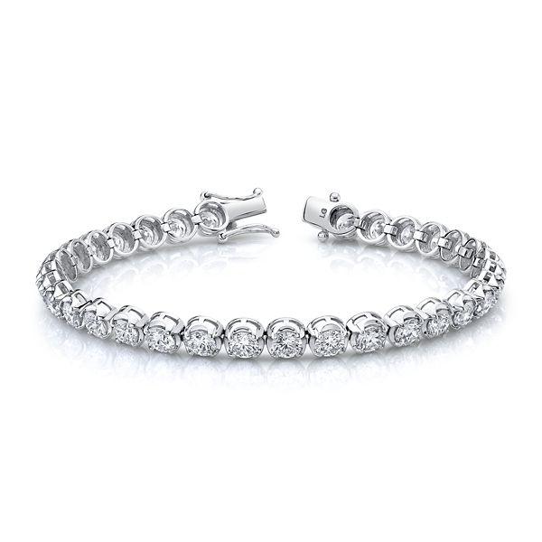 Eternalle Lab-Grown 14k White Gold Bracelet 10 ct. tw.