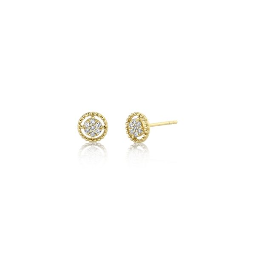 Gabriel & Co. 14k Yellow Gold Earrings 1/10 ct. tw.