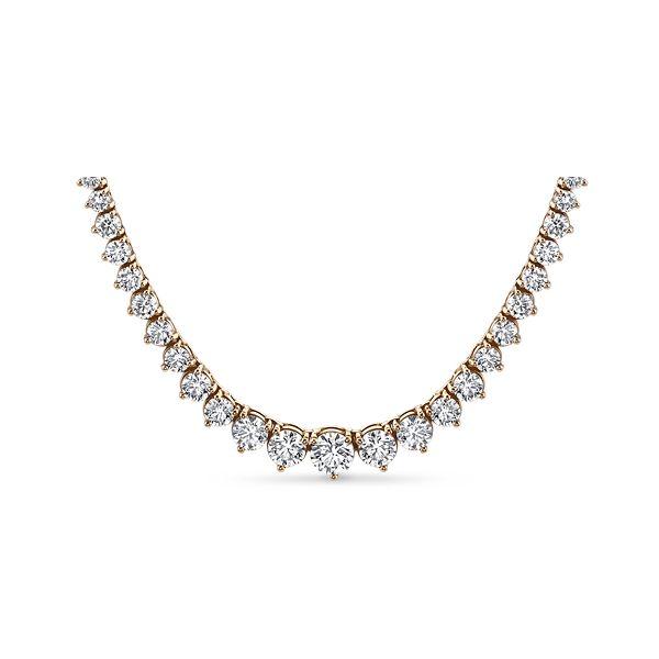 14k Rose Gold Necklace 10 ct. tw.