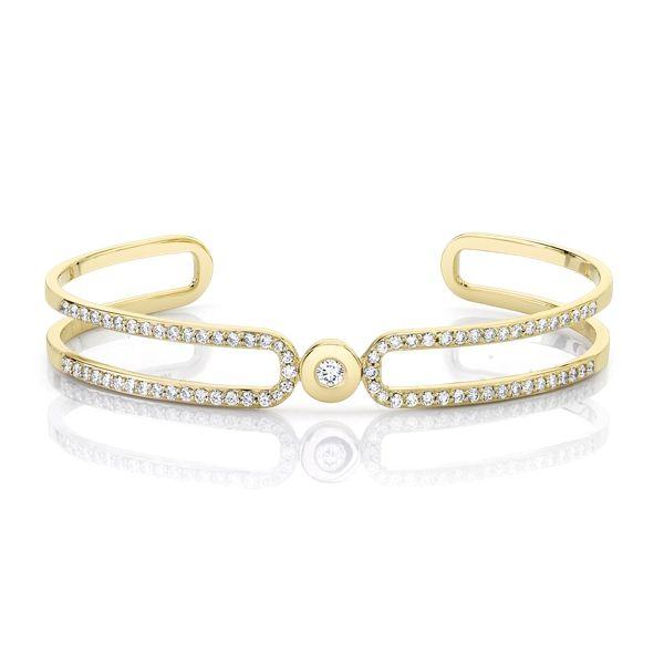 Michael M. 14k Yellow Gold Bracelet 1 ct. tw.