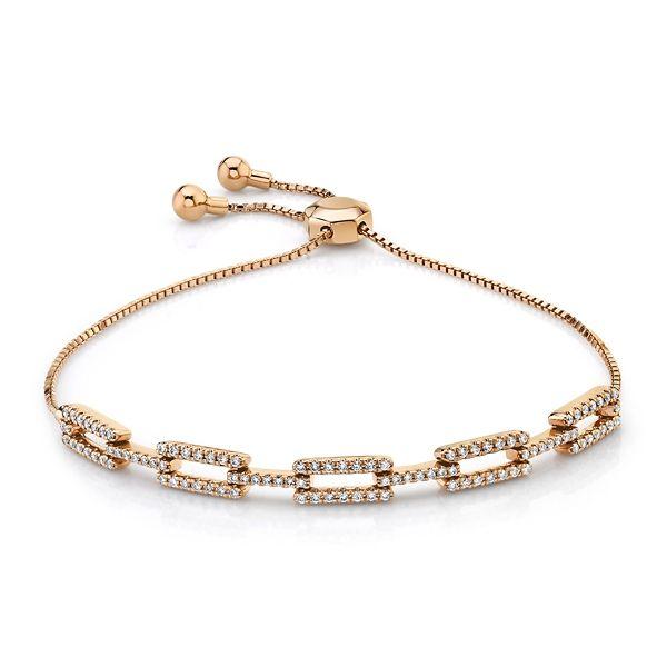 14k White Gold Bracelet 1/2 ct. tw.
