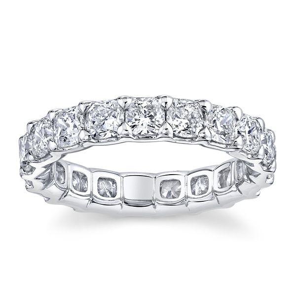 A. Jaffe 18k White Gold Diamond Wedding Band 3 1/2 ct. tw.