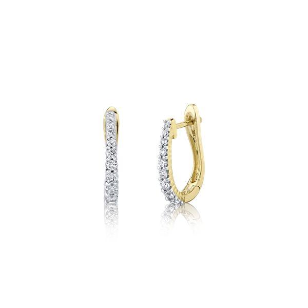 Eternalle Lab-Grown 14k Yellow Gold Earrings 5/8 ct. tw.