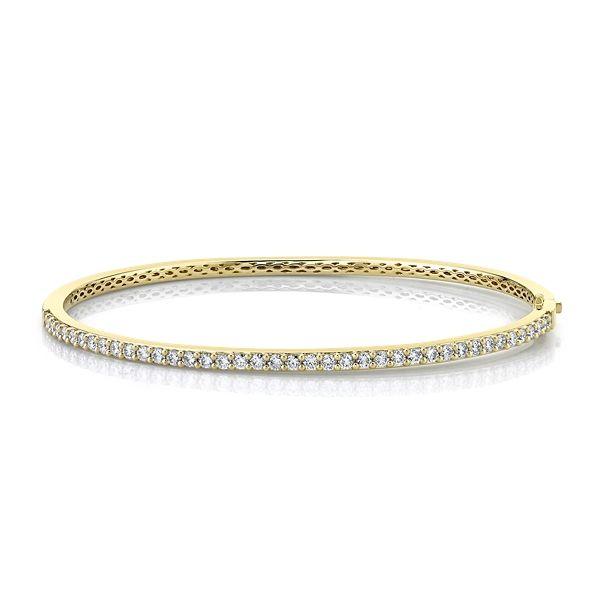 Memoire 18k Yellow Gold Bracelet 1 ct. tw.