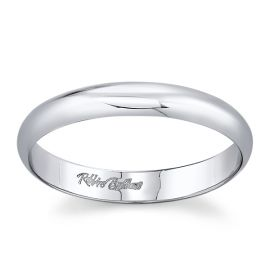 Platinum 3 mm Wedding Band