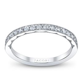 Tacori Platinum Diamond Wedding Ring 1/3 ct. tw.