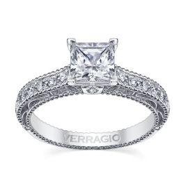 Verragio Ladies 14k White Gold Diamond Engagement Ring Setting