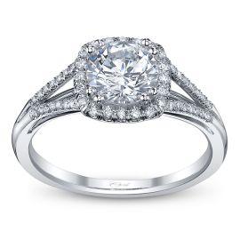 Coast Diamond 14k White Gold Diamond Engagement Ring Setting