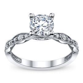 Tacori 18k White Gold Diamond Engagement Ring