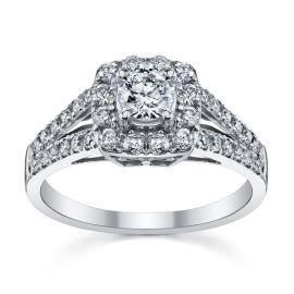 Cherish 14k White Gold Diamond Engagement Ring 3/4 ct. tw.