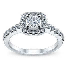 Poem 14k White Gold Diamond Engagement Ring 7/8 ct. tw.
