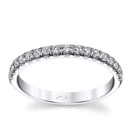 Coast Diamond 14k White Gold Diamond Wedding Band 1/4 ct. tw.