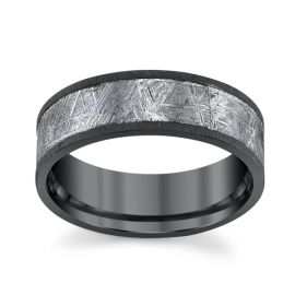 Lashbrook Zirconium 7 mm Wedding Band