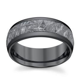 Lashbrook Zirconium 8 mm Wedding Band
