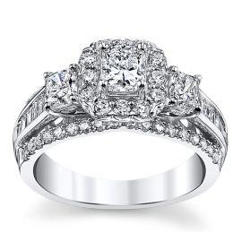 Utwo 14k White Gold Diamond Engagement Ring 1 7/8 ct. tw.