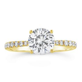 A. Jaffe 14k Yellow Gold Diamond Engagement Ring Setting 1/4 ct. tw.