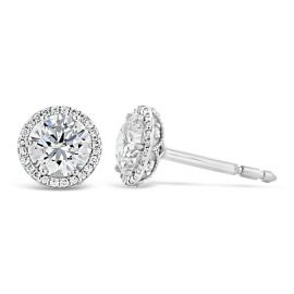 Tacori Jewelry 18k White Gold Earrings 1/7 ct. tw.