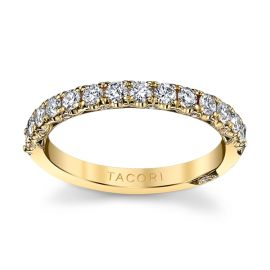 Tacori 18k Yellow Gold Diamond Wedding Band 5/8 ct. tw.