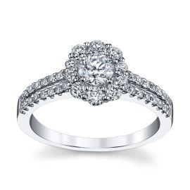Utwo 14k White Gold Diamond Engagement Ring 7/8 ct. tw.
