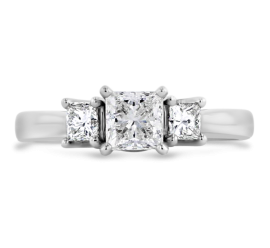 Utwo 14k White Gold Diamond Engagement Ring 1 ct. tw.