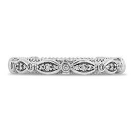 Verragio Platinum Diamond Wedding Band 1/7 ct. tw.