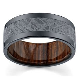 Lashbrook Zirconium 9 mm Wedding Band