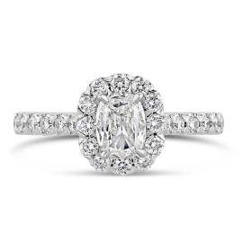Henri Daussi Platinum Diamond Engagement Ring 1 3/4 ct. tw.