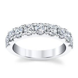 14k White Gold Diamond Wedding Band 1 1/2 ct. tw.