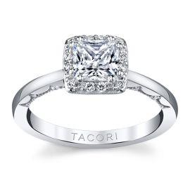 Tacori 14k White Gold Diamond Engagement Ring Setting 1/7 ct. tw.