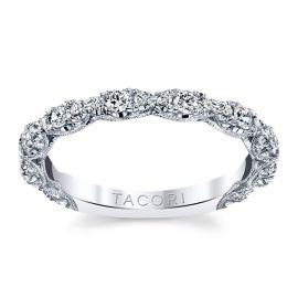 Tacori 18k White Gold Diamond Wedding Band 1/2 ct. tw.