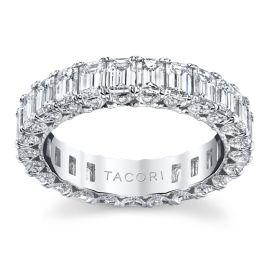 Tacori 18k White Gold Diamond Wedding Band 3 7/8 ct. tw.