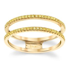 Simon G. 18k Yellow Gold Diamond Wedding Band 1/8 ct. tw.
