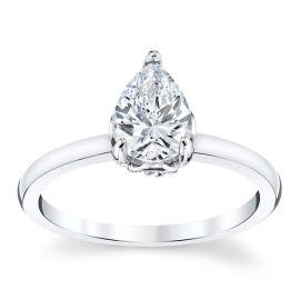 Kirk Kara 14k White Gold Diamond Engagement Ring Setting .05 ct. tw.