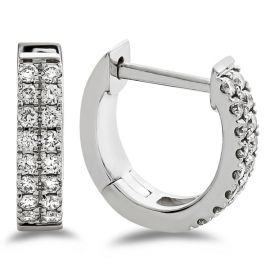 14k White Gold Earrings 1/3 ct. tw.