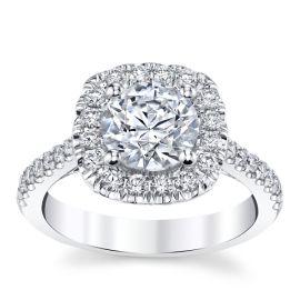 Coast Diamond 14k White Gold Diamond Engagement Ring Setting 1/2 ct. tw.
