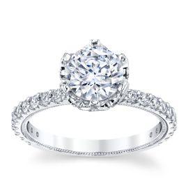RB Signature Platinum Diamond Engagement Ring Setting 3/4 ct. tw.