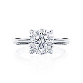 Tacori Platinum Diamond Engagement Ring Setting 1/8 ct. tw.