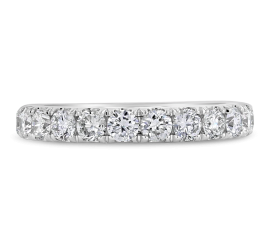 Eternalle Lab-Grown 14k White Gold Diamond Wedding Band 1 ct. tw.