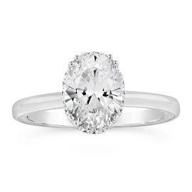 Verragio 14k White Gold Diamond Engagement Ring Setting .08 ct. tw.