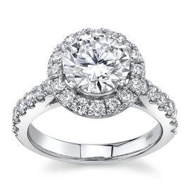 Eternalle Lab-Grown 14Kt White Gold Diamond Engagement Ring  3 ctw