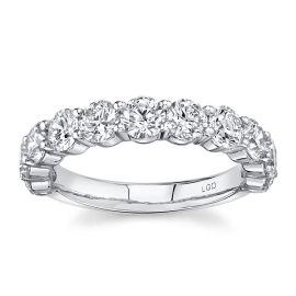 Eternalle Lab-Grown 14Kt White Gold Diamond Wedding Band 2 cttw