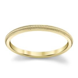 14Kt Yellow Gold 1.5 mm Wedding Band