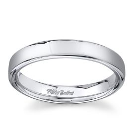 14Kt White Gold 4 mm Wedding Band