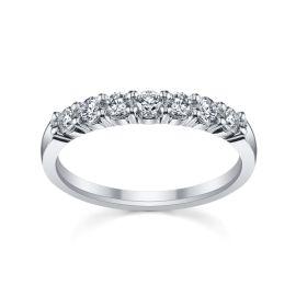Platinum Diamond Wedding Band 1/2 ct. tw.