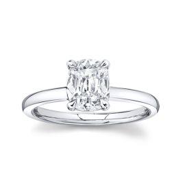 Henri Daussi Platinum Diamond Engagement Ring 1 1/2 ct. tw.