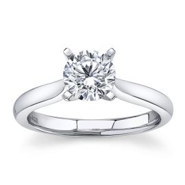 Gabriel & Co. 14k White Gold Diamond Engagement Ring Setting