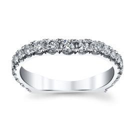 Michael M. 18k White Gold Diamond Wedding Band 3/4 ct. tw.