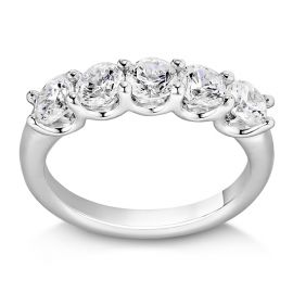 Eternalle Lab-Grown 14k White Gold Diamond Wedding Band 1 1/2 ct. tw.